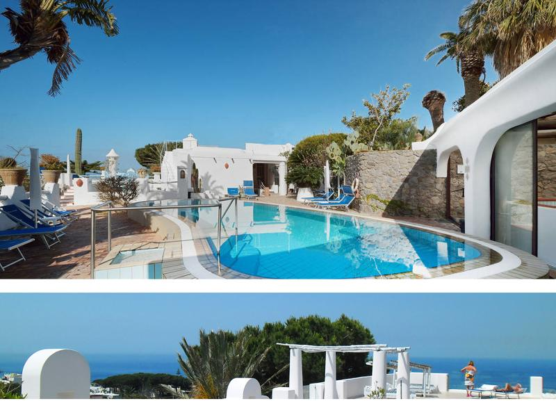 12 Apartments in a Botanical garden, pools. - Image 1 - Ischia - rentals