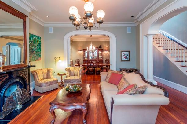 1001: Historic J. J. Dale House:  Luxurious 1883 Classic on a prime Jones Street - Image 1 - Savannah - rentals