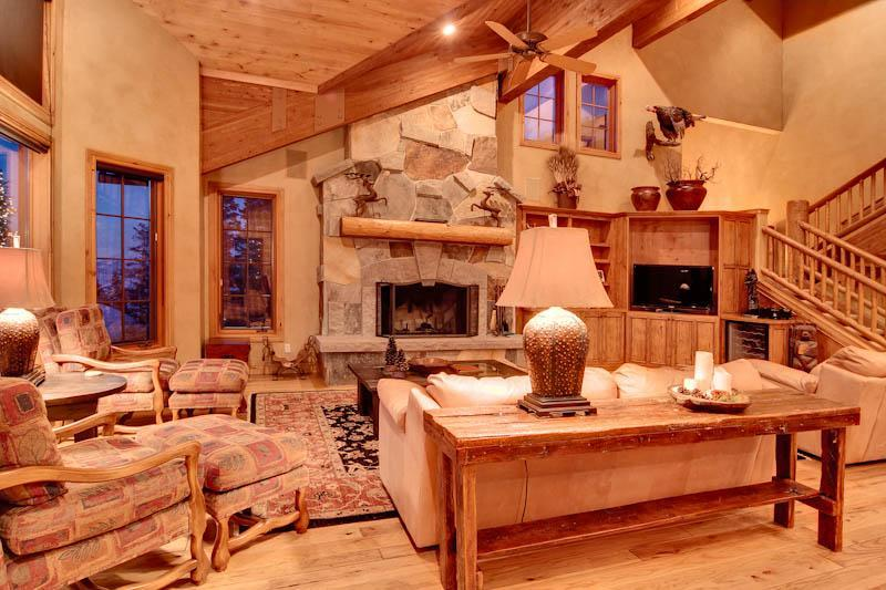 Stunning Mountain Views and Stylish Decor Make 6 Bed - Deer Valley Hearth Home - Image 1 - Park City - rentals