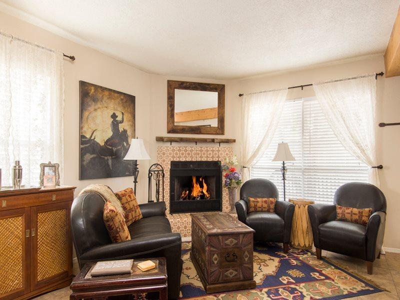 Living Room - Adobe Destinations - Sweet Dreams - Santa Fe - rentals