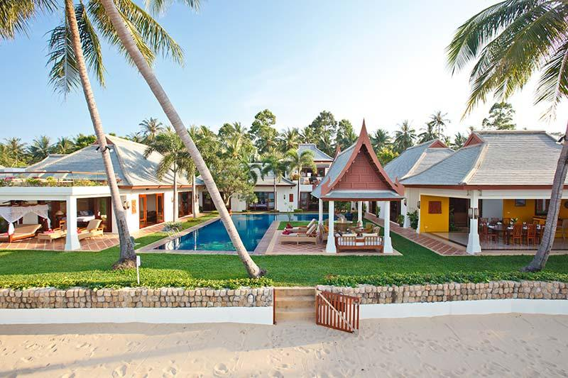 Villa 26 - Luxury Beach Front with Full Service - Image 1 - Mae Nam - rentals