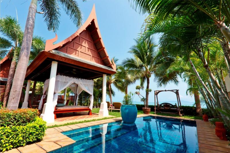 Villa 93 - Luxury Beach Front with Full Service - Image 1 - Mae Nam - rentals
