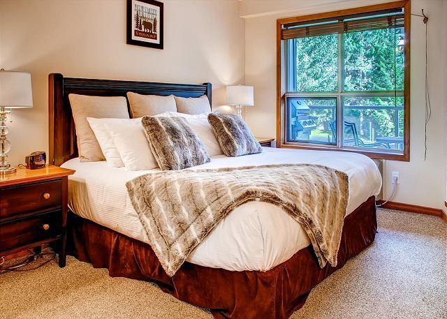 Master Bedroom - Aspens #234, Cozy 1 Bdrm, Ski-in Ski-out, Free Wifi - United States - rentals