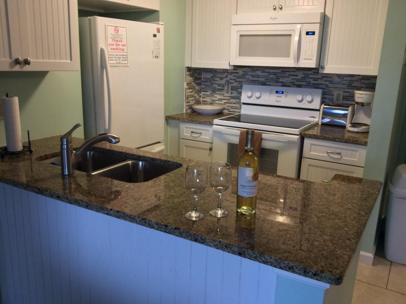 Kitchen Area - Sand Dollar Villas-Oceanfront Condo - Fernandina Beach - rentals