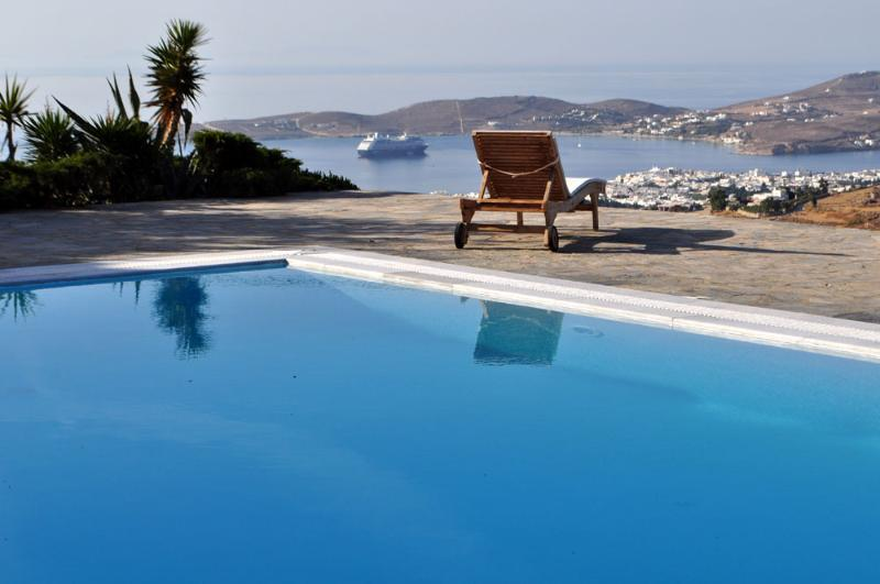 Villa Karma with private pool next to Parikia - Image 1 - Parikia - rentals