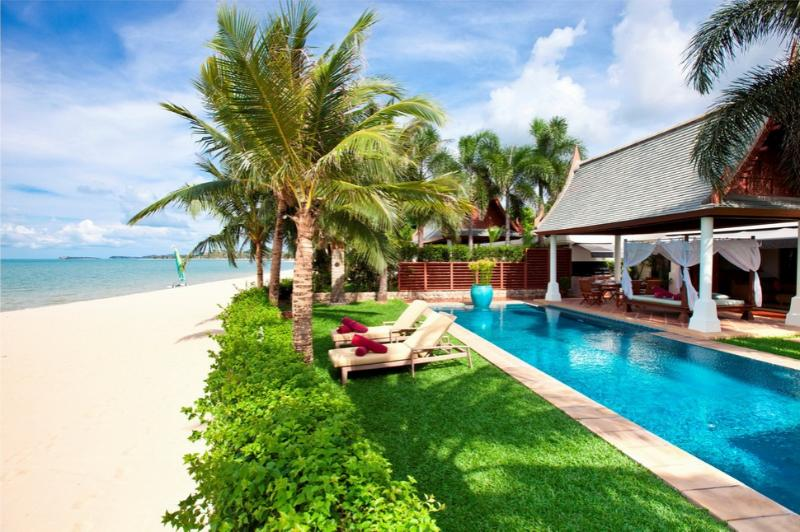 Villa 96 - Luxury Beach Front with Full Service - Image 1 - Mae Nam - rentals