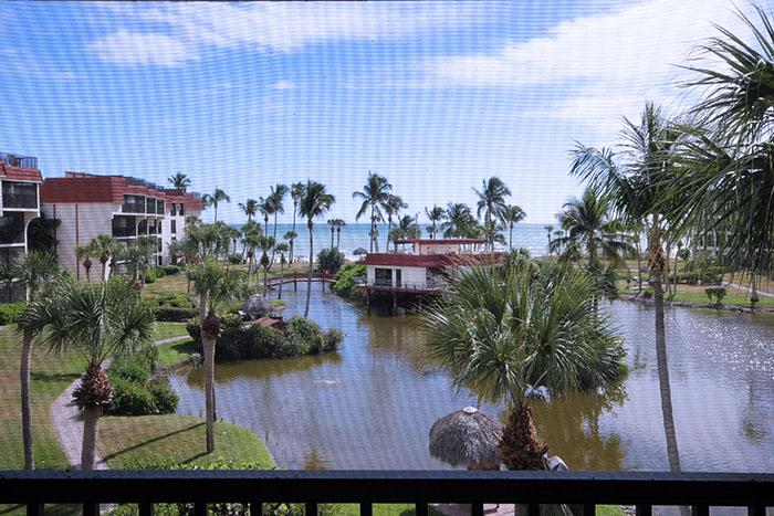 VIEW FROM UNIT - Pointe Santo C32 - Sanibel Island - rentals