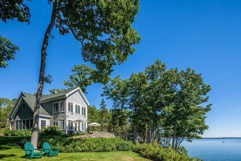 From the bay - Great Oak House - Lincolnville - rentals