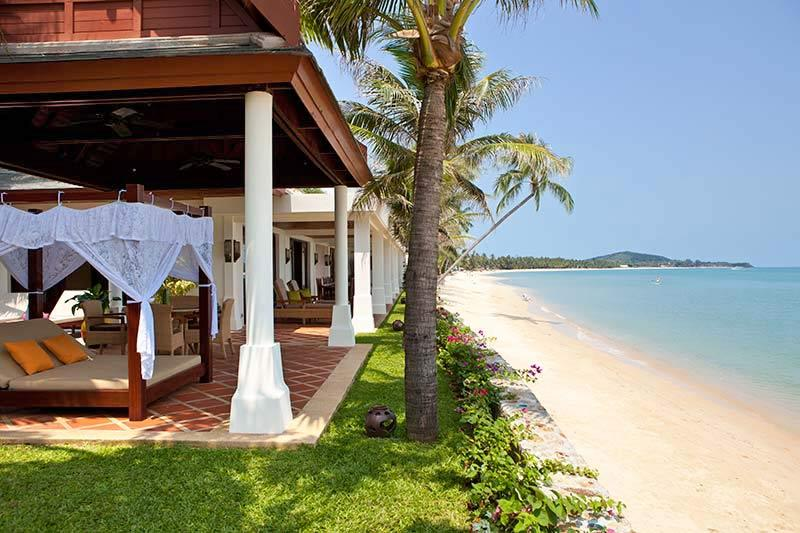 Villa 82 - Luxury Beach Front with Full Service - Image 1 - Mae Nam - rentals