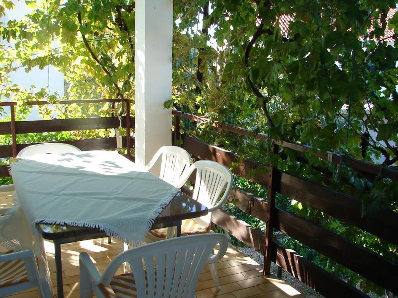 A1(7): covered terrace - 01207TROG  A1(7) - Trogir - Trogir - rentals