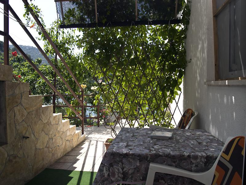SA1(2): terrace - 5123  SA1(2) - Bacina - Ploce - rentals