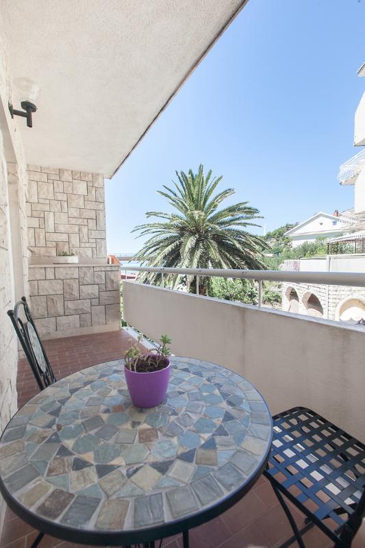 A(6): terrace - 7172  A(6) - Podgora - Podgora - rentals