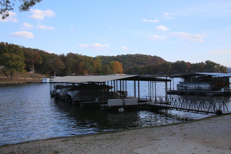 dock and fishing area - Cozy Cabin - Sunrise Beach - rentals