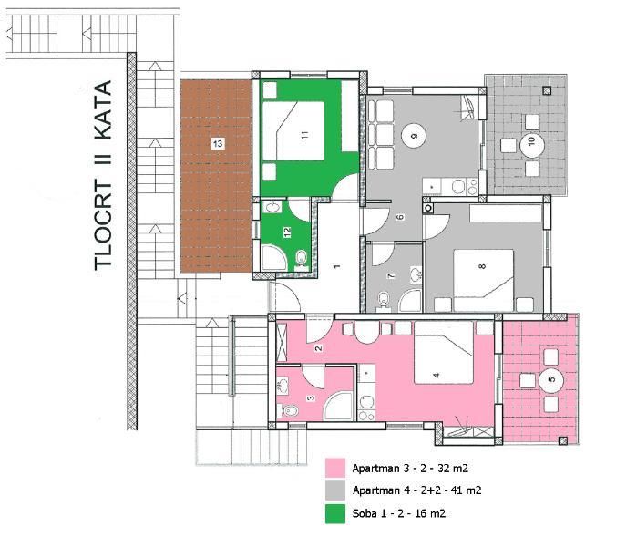 A2(2+2): floor plan - 35246  A2(2+2) - Duba - Blace - rentals