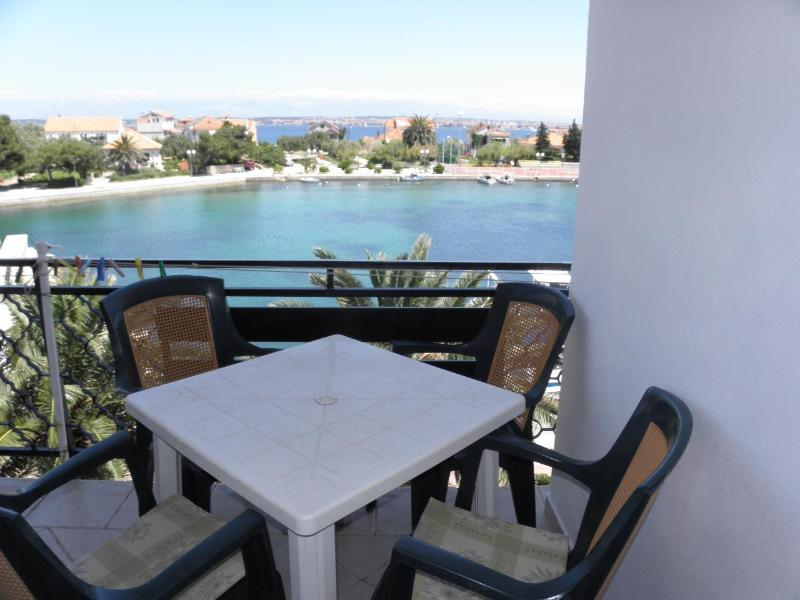 A4(3): covered terrace - 2596 A4(3) - Poljana - Poljana - rentals