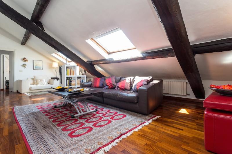 living room - VIRGILIO - Milan Central Luxury Apartment - Milan - rentals