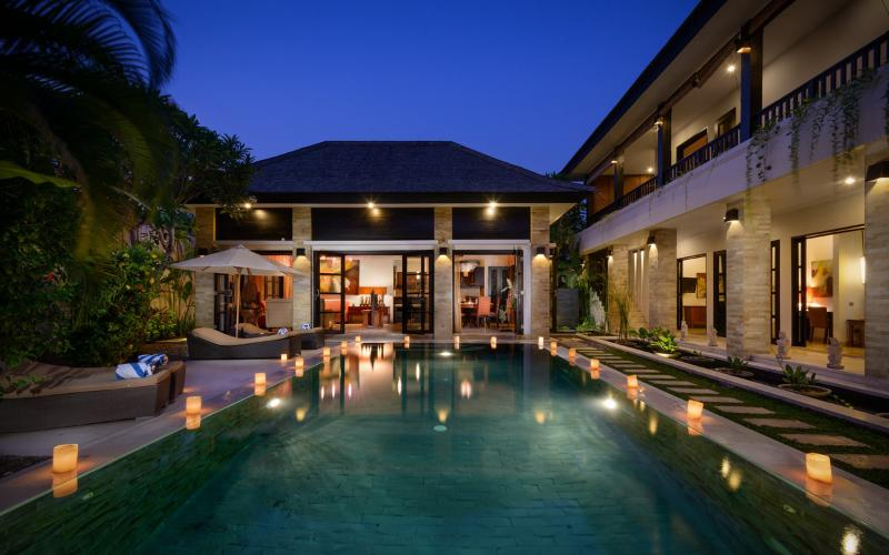 VILLA AMMAN - 300m FROM SEMINYAK SQUARE, 24 SECURITY, DAILY BREAKFAST - Image 1 - Legian - rentals