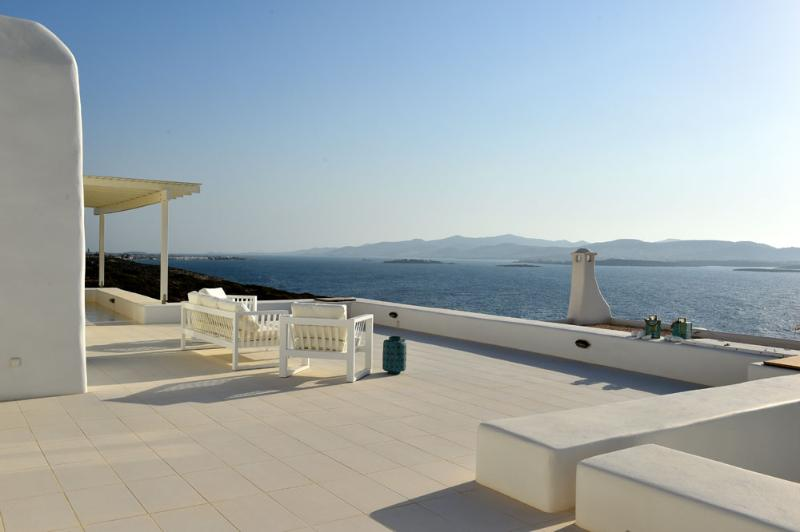 Blue Coast Villa 3 next to the sea and the beach - Image 1 - Parikia - rentals