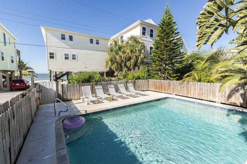 1/27: - New Private Hot Tub at this Spacious Beachside Home, One House back from the - Fort Myers Beach - rentals