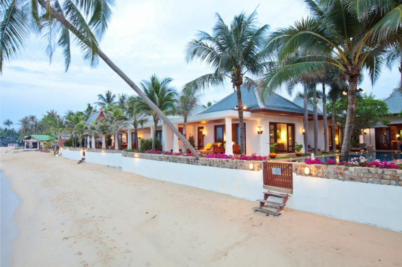 Villa 91 - Luxury Beach Front with Full Service - Image 1 - Mae Nam - rentals
