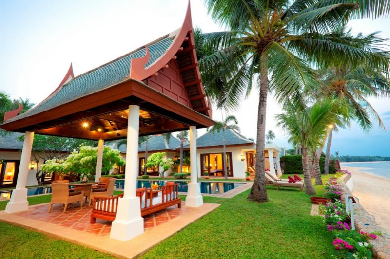 Villa 89 - Luxury Beach Front with Full Service - Image 1 - Mae Nam - rentals
