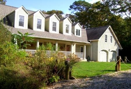 FRONT OF HOUSE - SEASHELLS BY THE SEA SHORE - Hampton Bays - rentals