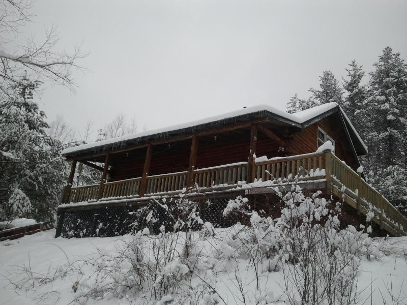 Charming and cozy Log cabin near Stratton Vermont - Image 1 - Jamaica - rentals
