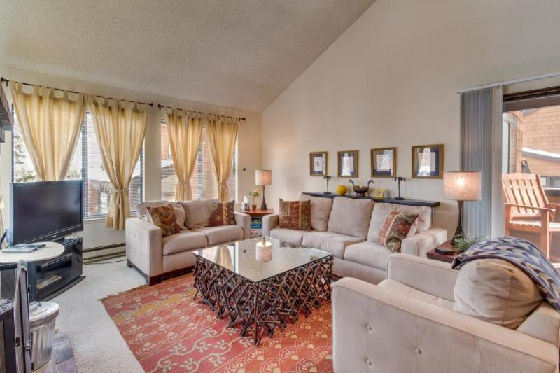 Spacious condo w/ a shared hot tub, sauna, pool & much more! - Image 1 - Truckee - rentals