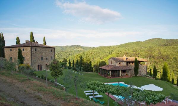 Beautiful, quiet property in the heart of the Chianti region between Gaiole and Castelnuovo Bergardenga. SAL MNA - Image 1 - Chianti - rentals