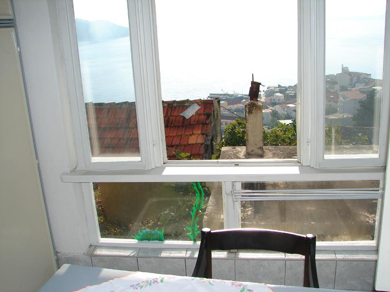 SA2(2): window view - 01013IGRA  SA2(2) - Igrane - Igrane - rentals