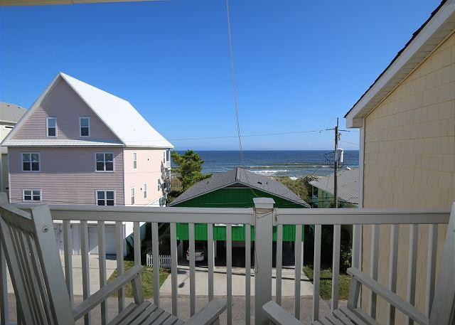 Tropical Winds C4 - Oceanview condo, open and spacious floor plan, community - Image 1 - Carolina Beach - rentals