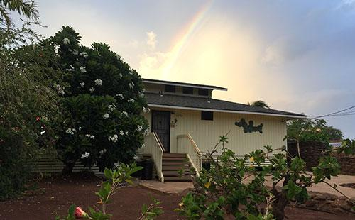 The end of the rainbow - A Ala Hale - Kaunakakai - rentals