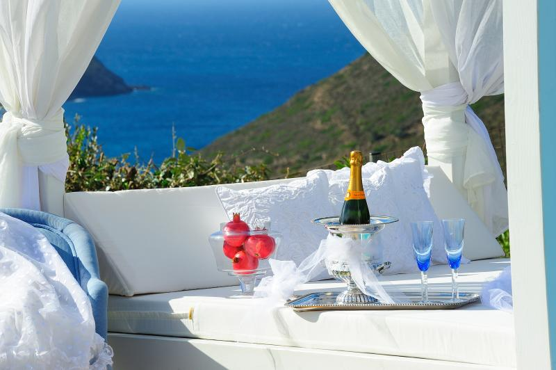 Luxurious Cycladic Villa, private swimming pool! - Image 1 - Andros - rentals