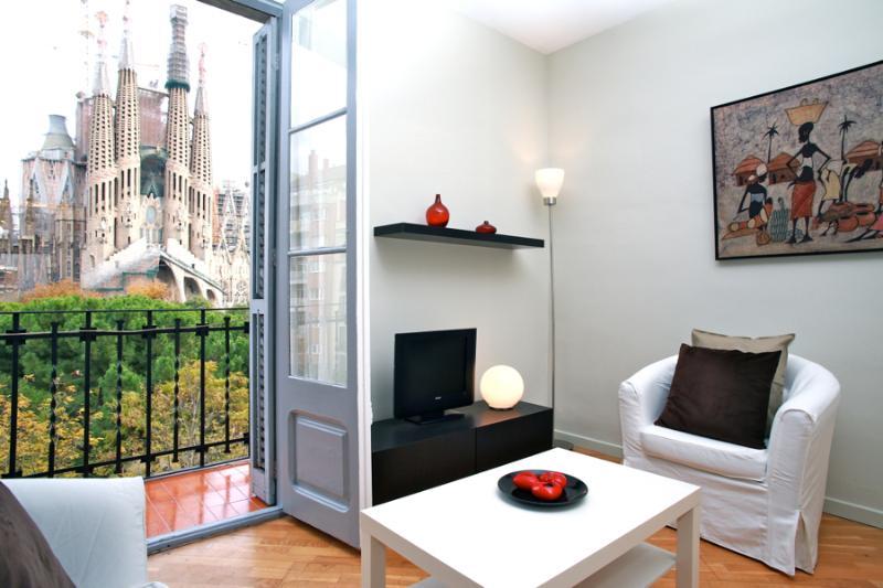 Plaza Sagrada Familia apartment - Image 1 - Barcelona - rentals