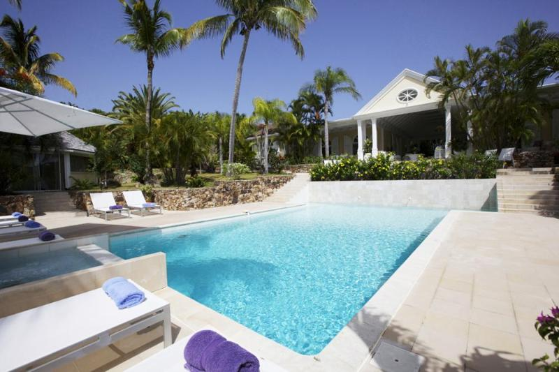 Luxury 4 bedroom St. Barts villa. Stylish with great sunset views! - Image 1 - Saint Barthelemy - rentals