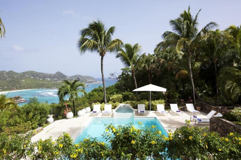 Luxury 4 bedroom St. Barts villa. Stylish with great sunset views! - Image 1 - Saint Barthelemy - rentals