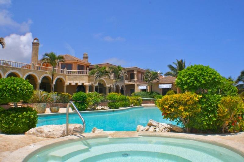 Luxury 8 bedroom Dominican Republic villa. Ocean, beach, and mountain views! - Image 1 - Cabrera - rentals