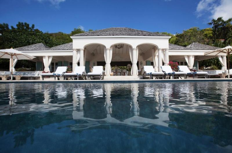 Luxury 6 bedroom St. Barts villa. Broad sunset views of Lorient and St. Jean! - Image 1 - Pointe Milou - rentals