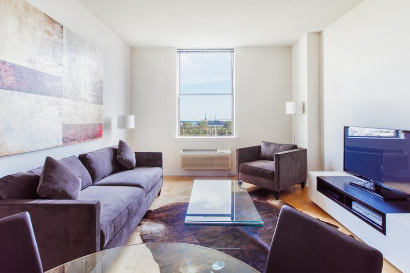 The Living Room - Sky City at Liberty View - Luxurious 1-bedroom! - Jersey City - rentals