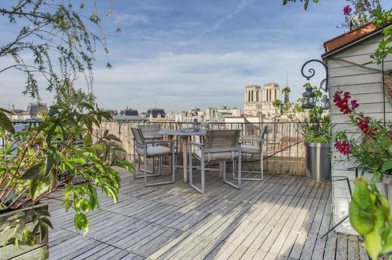 Notre Dame Paris Flat Penthouse with 30m2 Terrace - Image 1 - Paris - rentals