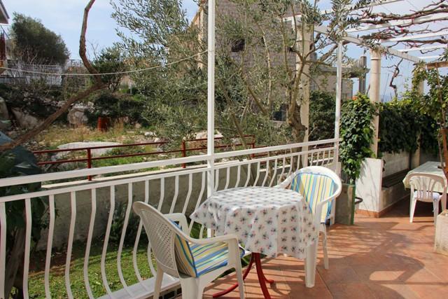 A2(2+1): terrace - 4908  A2(2+1) - Cavtat - Cavtat - rentals
