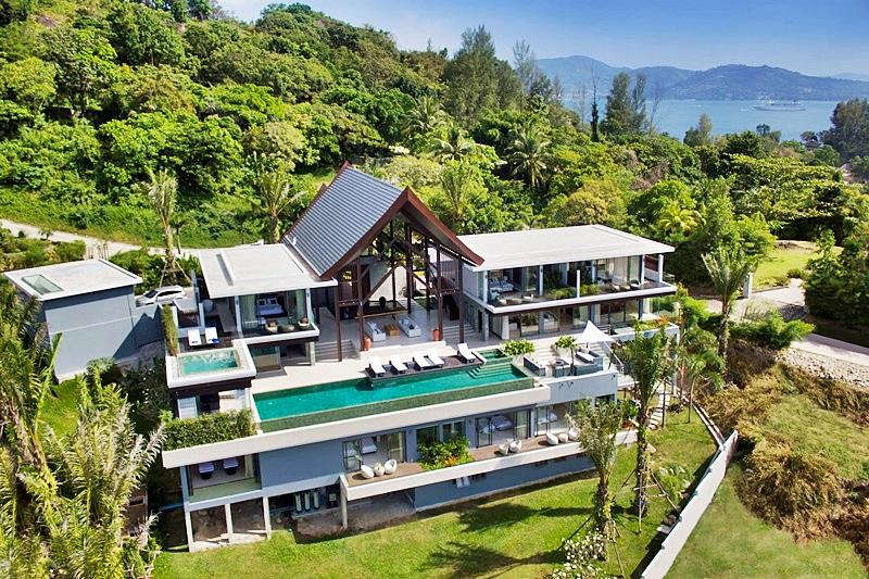 New on the Market 6 bedroom Oceanfront villa - Image 1 - Patong - rentals