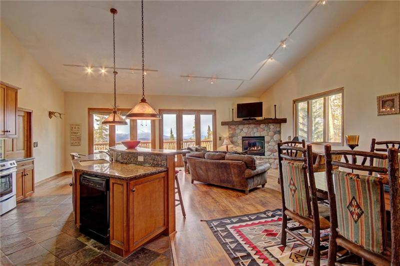 Comfortable Secluded 4 Bedroom Townhome - 411 Fuller Placer - Image 1 - Breckenridge - rentals