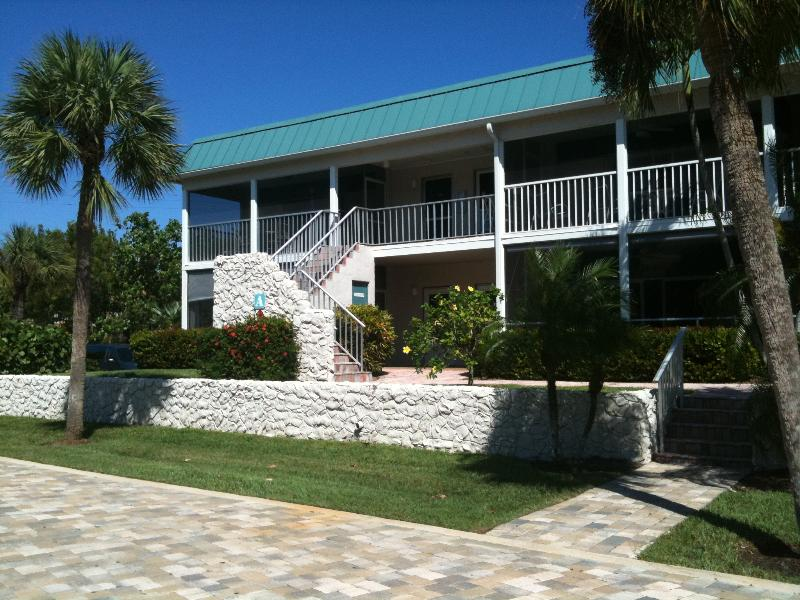 Front of Unit A1 - Perfect beach vacation for sun,shells and fun! Relax to the sound of the surf. - Sanibel Island - rentals