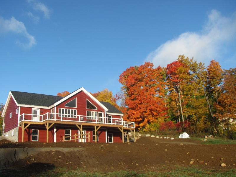 This is a view of the front of the home! - Brand New 4 bedroom 4.5 bath home on 2 acres - Manchester - rentals