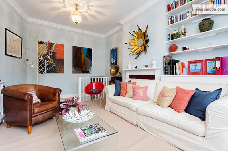 Colourful 2 bed family flat, Larkhall Rise, Clapham - Image 1 - London - rentals