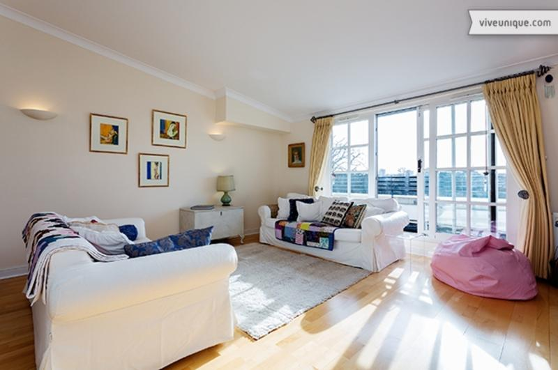 Light and open 2 bed 2 bath, Mayfield Mansions, East Putney - Image 1 - London - rentals