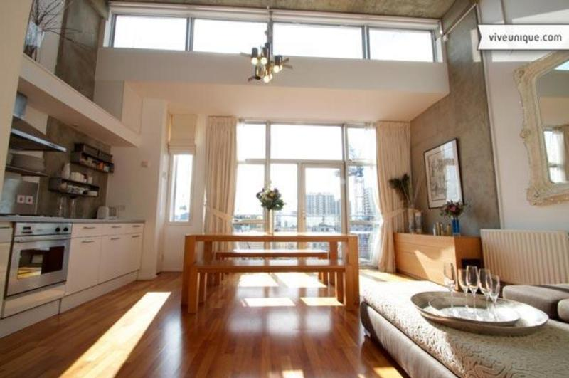 Kitchen - Penthouse on the Canal, 2 bedroom, Shoreditch - London - rentals