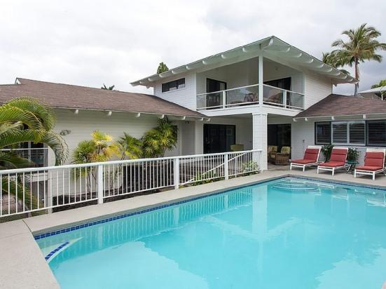 Home, with pool, ocean - Elua Akai Combo- Perfect for Reunions/Large Groups - Kailua-Kona - rentals