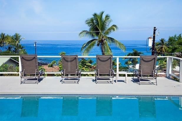 Elua Akai- 2 Blocks from the Beach, Private Pool! - Image 1 - Kailua-Kona - rentals